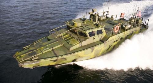 Riverine Command Boat